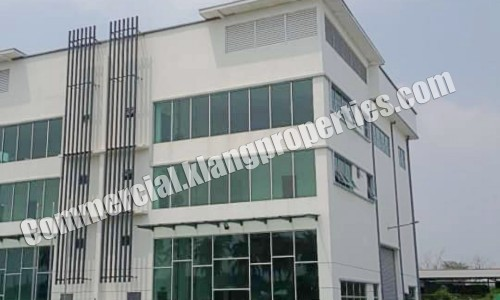 BUKIT KEMUNING, BRAND NEW 3 STRY SEMI-D FACTORY, 68X132SF. RM4,100,000