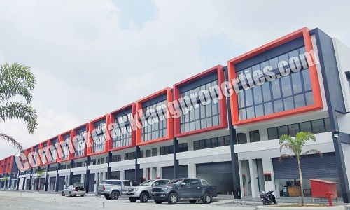 TPG INDUSTRIAL PARK, BRAND NEW 2 STRY LINK FACTORY FOR SALE. 23.2X92SF. FROM RM1,150,000