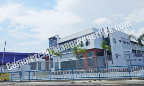TELOK PANGLIMA GARANG, 1.5 STRY DETACHED FACTORY FOR SALE. 2.59ACRES. RM18MIL