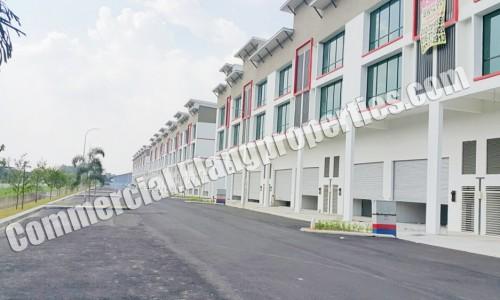 LCH INDUSTRY PARK, BATU BELAH, 3 STRY LINK FACTORY. 25X75SF. RM2,168,000